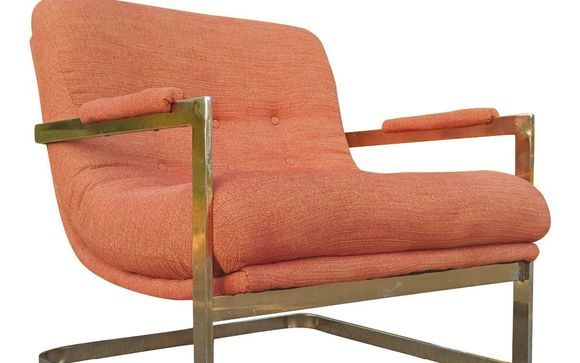 Marvelous Mid Century Modern Milo Baughman Style Scoop Lounge Chair By Gmtry Best Dining Table And Chair Ideas Images Gmtryco