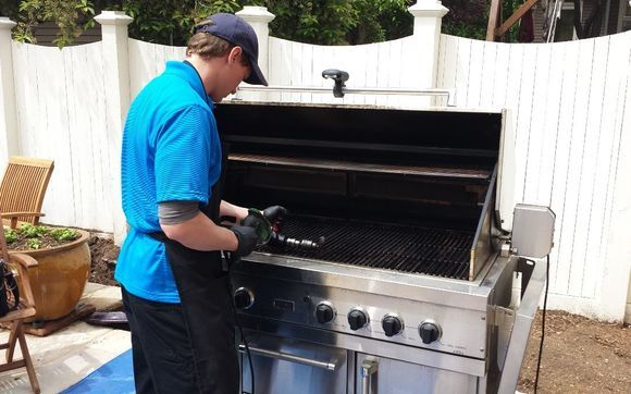 Grill Cleaning By Prestige Bbq And Oven In