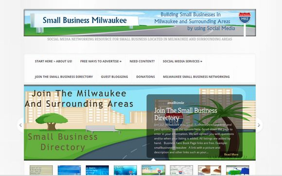 Small Business Website Design By Small Business Mke Web Design Social Media Manager In Milwaukee Wi Alignable