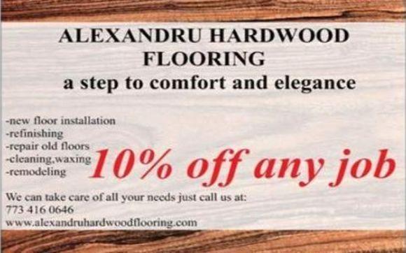 10 Off Any Job By Alexandru Hardwood Flooring And Flooring
