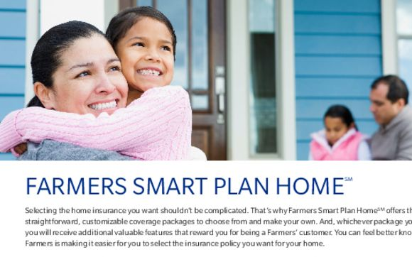 Farmers House Insurance >> Farmers Smart Plan Home Homeowners Insurance By Farmers