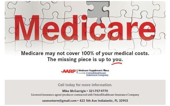 Aarp Medicare Supplement By Michael Mcgarrigle Inc In Indialantic Fl Alignable