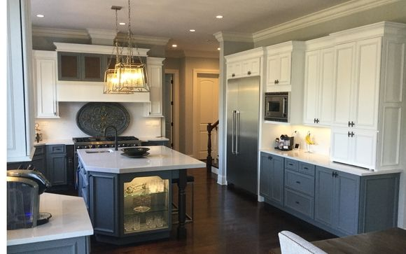 Kitchen Cabinet Painting By Dbk Painting Llc In Lake Zurich Il Alignable