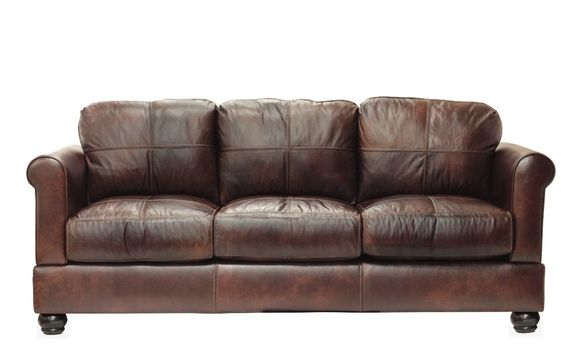 Megan Leather Sofa By Simplicity Sofas