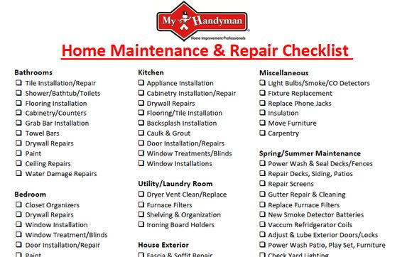 Home Repair And Maintenance By Mr  Handyman Of Central St