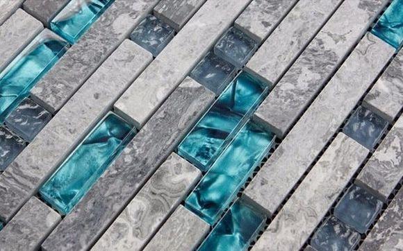 Gray Marble Backsplash Tiles Sea Gl
