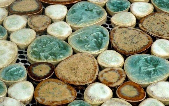 Glazed Ceramic Mosaic Pebble