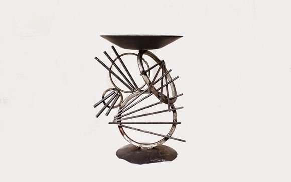 Metal Art Sculpture Bird Bath By Metal Art At Recycled Salvage Design In Longview Tx Alignable