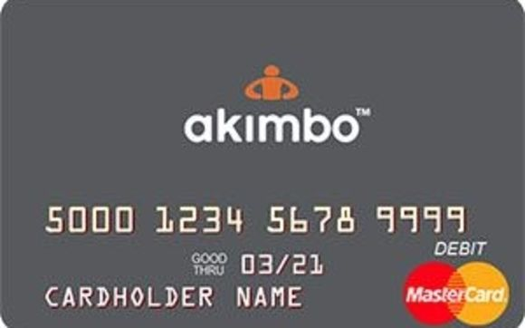 Image result for Akimbo Prepaid Mastercard®