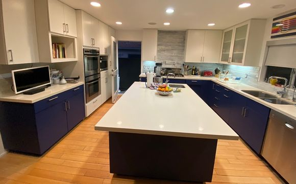 Kitchen Cabinets Refinish By Rene S Painting In Los Angeles Ca Alignable