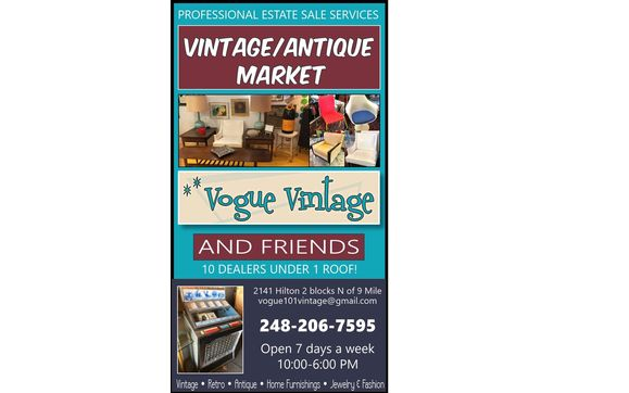 Antique Furniture By Vogue Vintage In Ferndale Mi Alignable