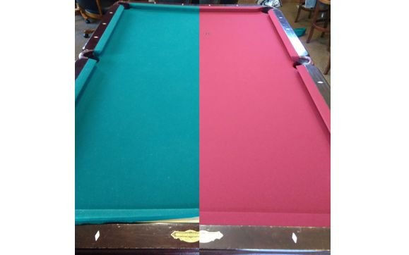 Pool Table Refelting By East Coast Game Rooms In Kitty Hawk