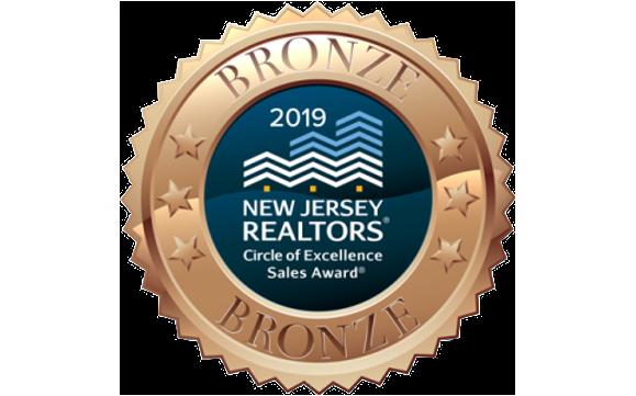 Circle of Excellence Bronze Sales Award 2017-2019 by Katherine Maranino -  Broker Associate in Rumson, NJ - Alignable