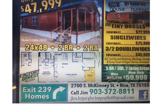 Manufactured Housing By Liberty Homes Of North Texas 903 372 8811 In Rice Area Alignable